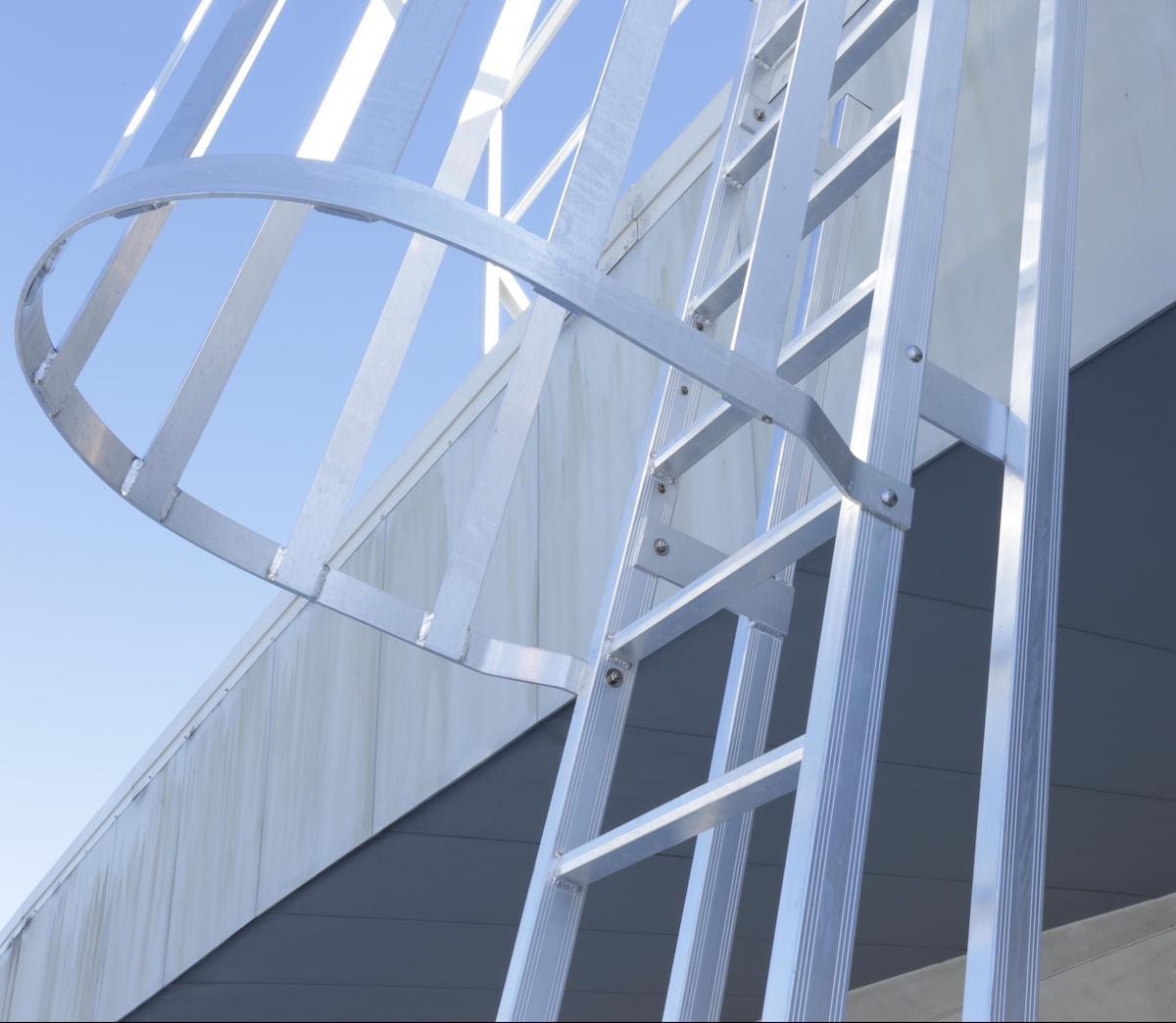 Roof Access Cage Ladders Safe At Heights Brisbane Queensland 06