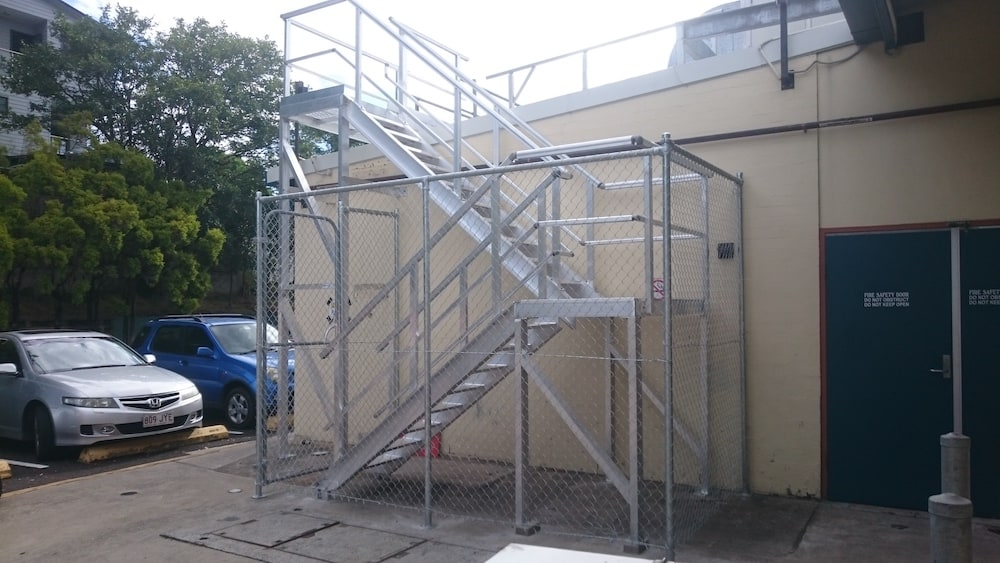 Roof Access Stairs Safe At Heights Queensland 1