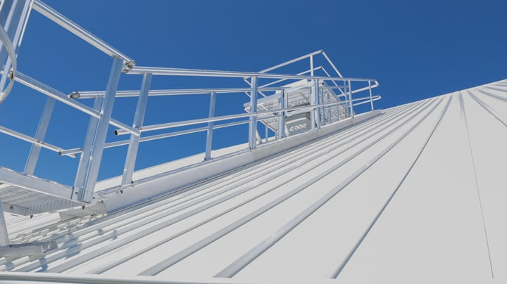 Roof Access Stairs Safe At Heights Queensland 7