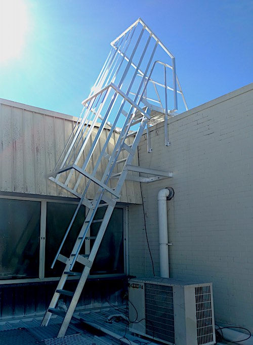Step Type Ladders Safe At Heights Queensland 02 1
