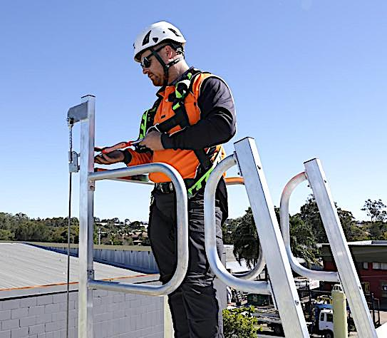 Vertical Ladders Height Safety Training safe at heights queensland