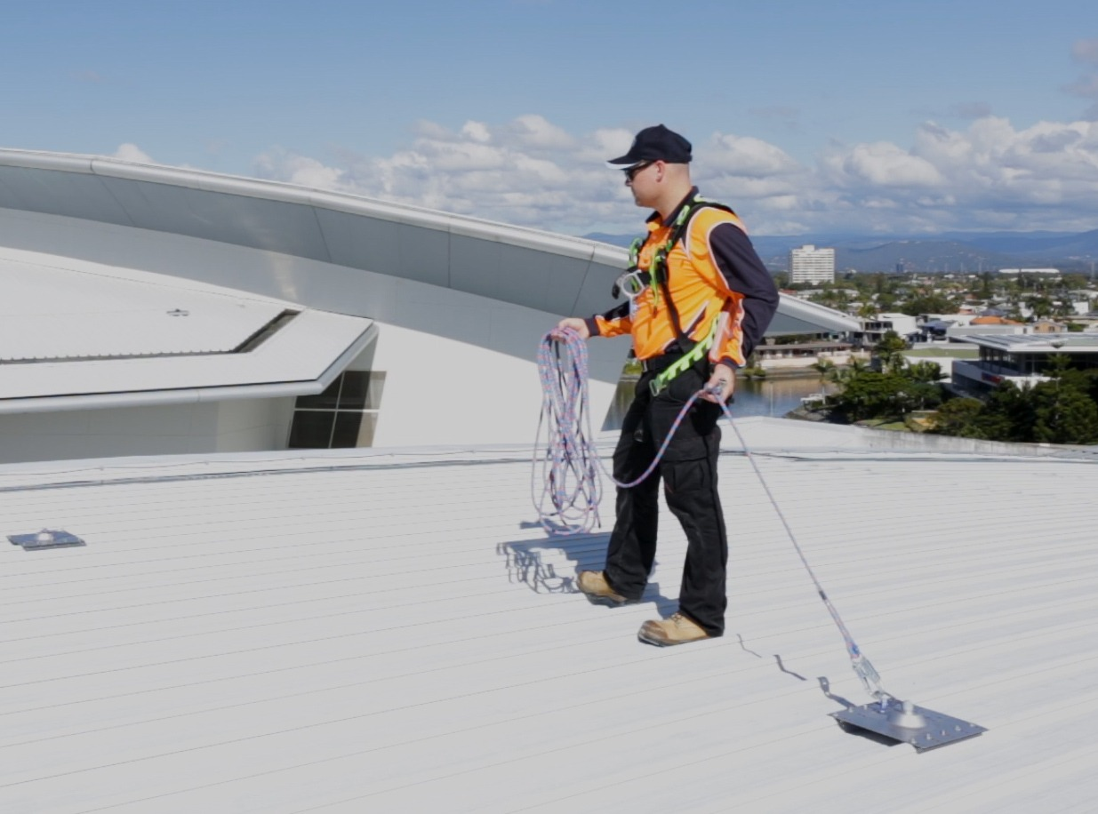 Height Safety Roof Anchor Points Safe At Heights Brisbane Queensland 2