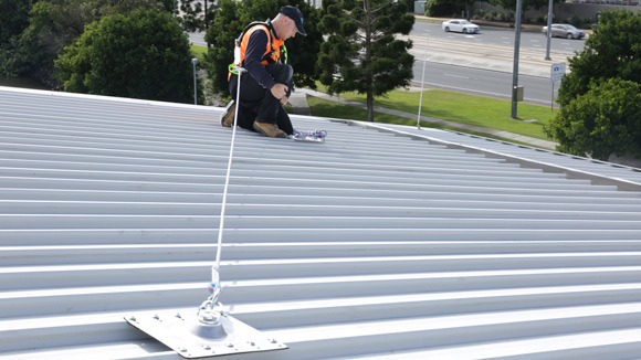 Height Safety Roof Anchor Points Safe At Heights Brisbane Queensland 4
