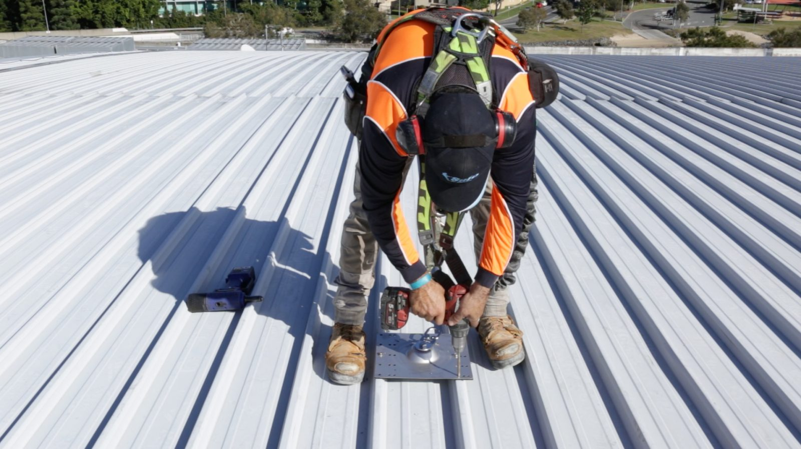 Height Safety Roof Anchor Points Safe At Heights Brisbane Queensland 5