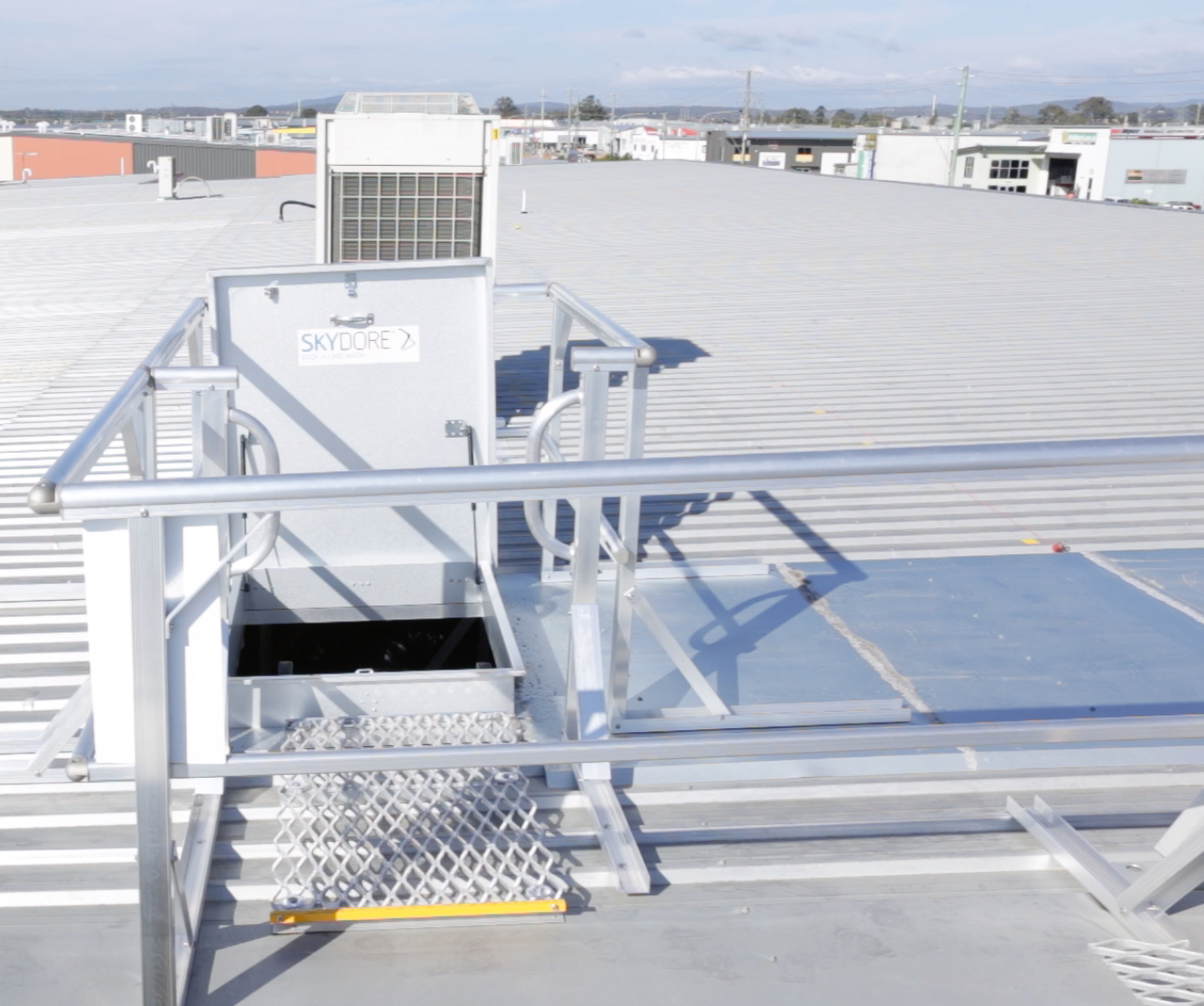 Roof Access Hatch and Hatches Safe At Heights Brisbane Queensland 6