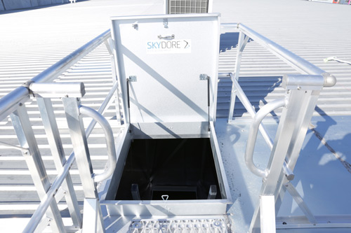 Roof Access Hatch and Hatches Safe At Heights Brisbane Queensland 7
