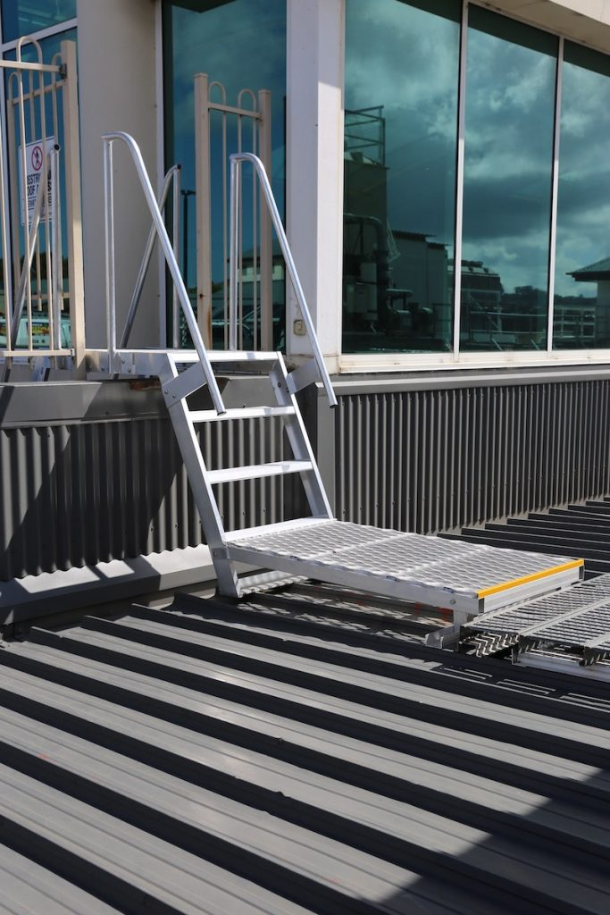 Safe At Heights Roof Access Ladders Angled Rung Ladders Brisbane Queensland 1