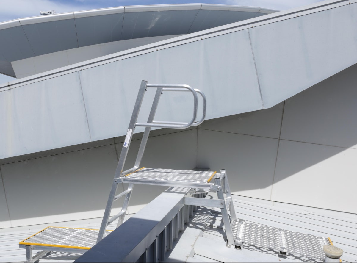 Safe At Heights Roof Access Ladders Angled Rung Ladders Brisbane Queensland 5