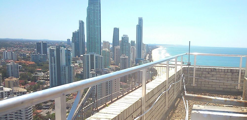 Handrails Roof Access Walkways Roof Platforms Safe At Heights Brisbane Queensland 5