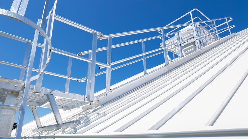 Roof Access Stairs Safe At Heights Queensland 25