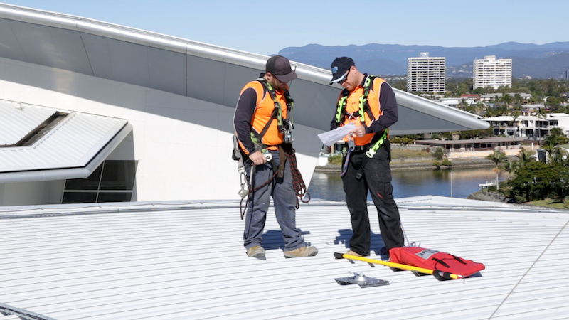 fall arrest systems safe at heights queensland 4