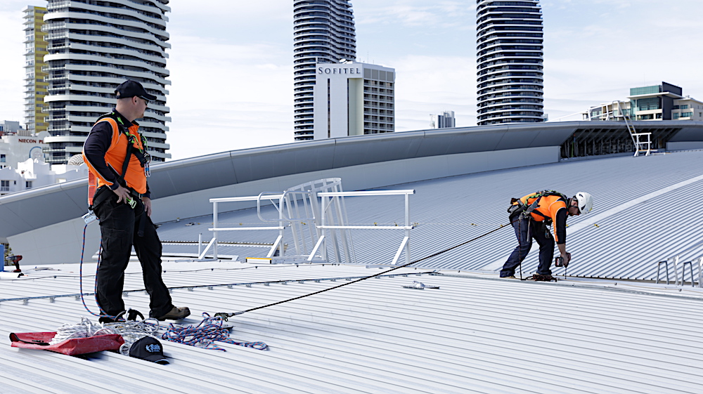 Fall Arrest Attachment Methods Safe At Heights Queensland