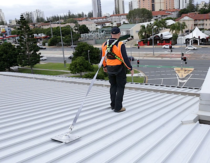 Fall Arrest Harness Height Safety Roof Anchor Points Safe At Heights Brisbane Queensland