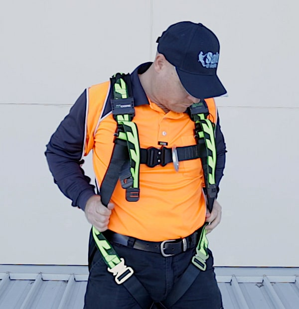 Fall Arrest Harness Safe at Heights Queensland