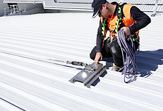Fall Arrest Static Line Systems and Installation Safe At Heights Brisbane Queensland 1