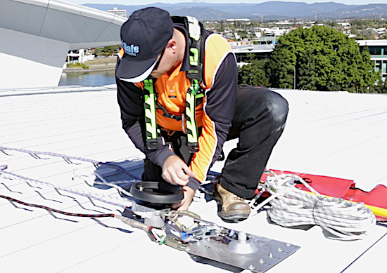 Height Safety Equipment Safe at Heights