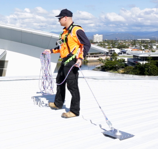 Height Safety Roof Anchor Points Safe At Heights Brisbane Queensland02