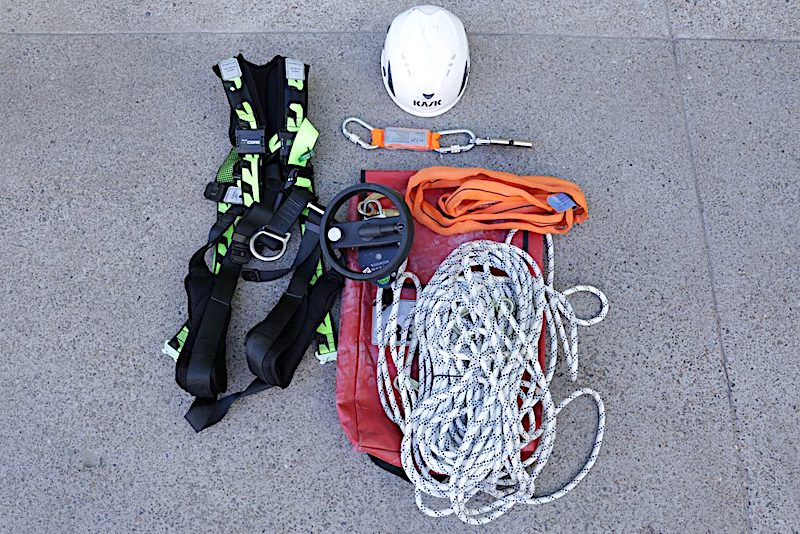 Rescue Equipment safe at Heights