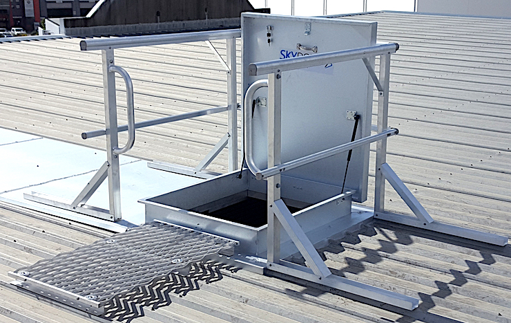 Roof Access Hatch and Hatches Safe At Heights Brisbane Queensland 4