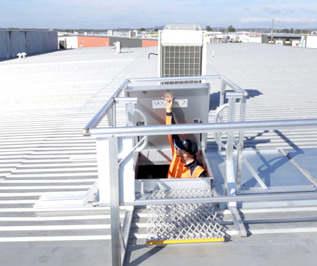 Roof Access Hatch and Hatches Safe At Heights Brisbane Queensland 8