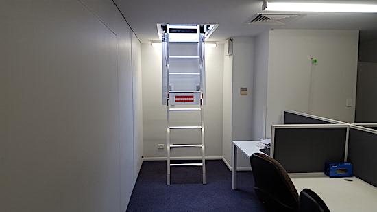 Roof Access Hatch and Hatches Safe At Heights Brisbane Queensland