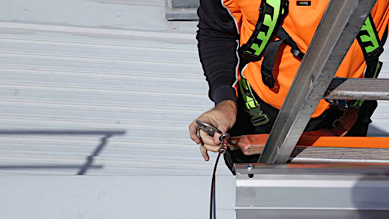 Roof Access Ladders Dock and Brackets Safe At Heights Brisbane Queensland 15