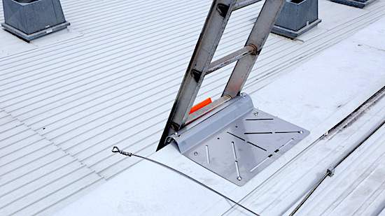 Roof Access Ladders Dock and Brackets Safe At Heights Brisbane Queensland 16 1