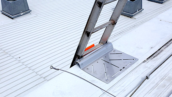Roof Access Ladders Dock and Brackets Safe At Heights Brisbane Queensland 16