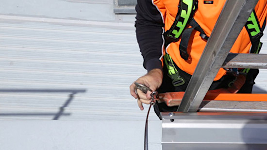 Roof Access Ladders Dock and Brackets Safe At Heights Brisbane Queensland000
