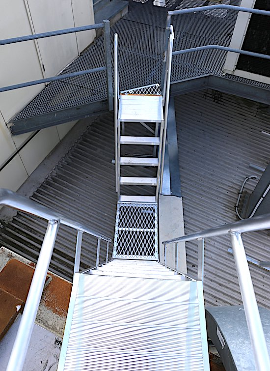Roof Access Ladders Safe At Heights Brisbane Queensland 1 5