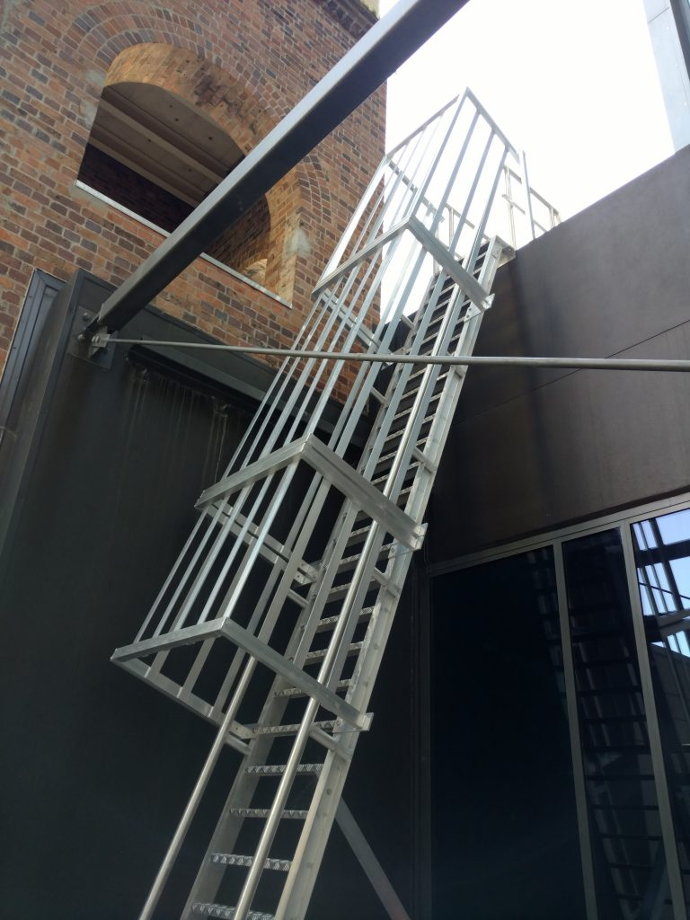 Roof Access Step Type Ladder Safe At Heights Brisbane Queensland 13 1