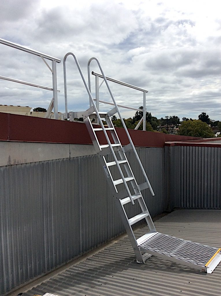 Roof Access Step Type Ladder Safe At Heights Brisbane Queensland 4 1