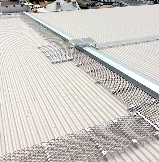 Roof Access Walkways Roof Access Platforms Safe At Heights Brisbane Queensland 1