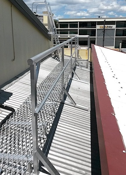 Roof Access Walkways Roof Access Platforms Safe At Heights Brisbane Queensland 11