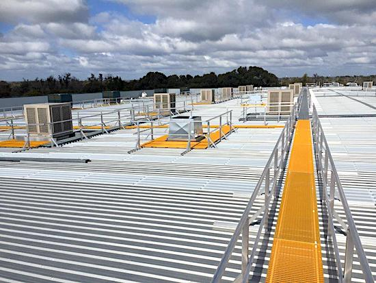 Roof Access Walkways Roof Access Platforms Safe At Heights Brisbane Queensland01