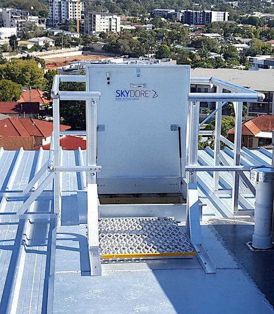 SAFE AT HEIGHTS ROOF ACCESS HATCH INSTALLATION PROCESS