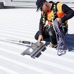 Fall Arrest Static Line Systems and Installation Safe At Heights Brisbane Queensland
