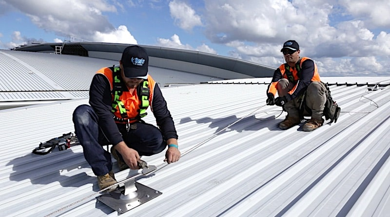 Fall Arrest Static Line Systems and Installation Safe At Heights Brisbane Queensland 7 1 1