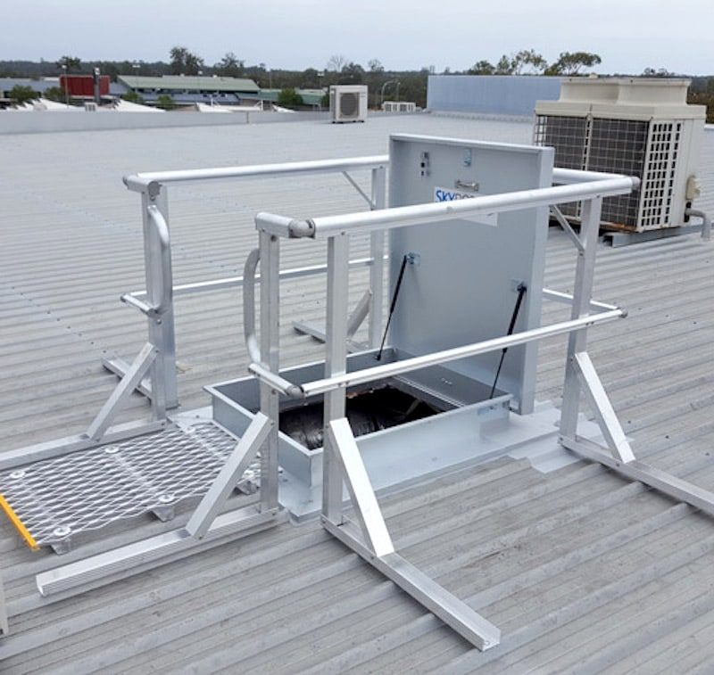 Roof Access Hatch and Hatches Safe At Heights Brisbane Queensland 5