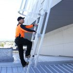 Roof Access Ladders Safe At Heights Queensland