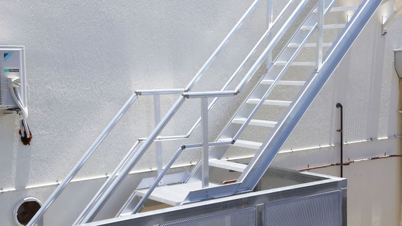 Roof Access Stairs Safe At Heights Queensland 14 1