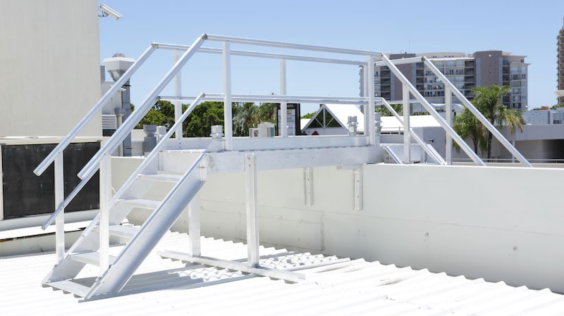 Roof Access Stairs Safe At Heights Queensland 18
