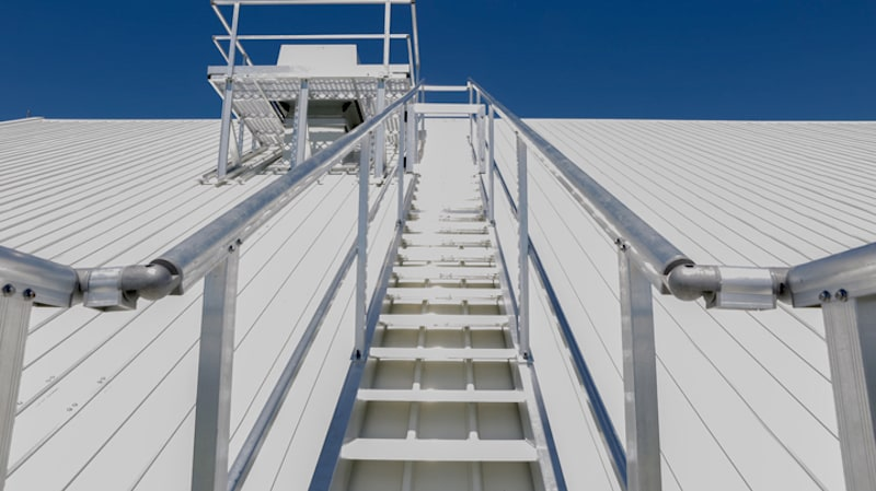 Roof Access Stairs Safe At Heights Queensland 6