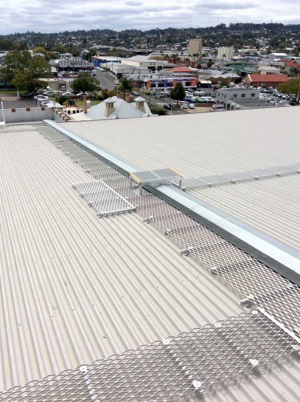 Roof Access Walkways Roof Access Platforms Safe At Heights Brisbane Queensland 1 1
