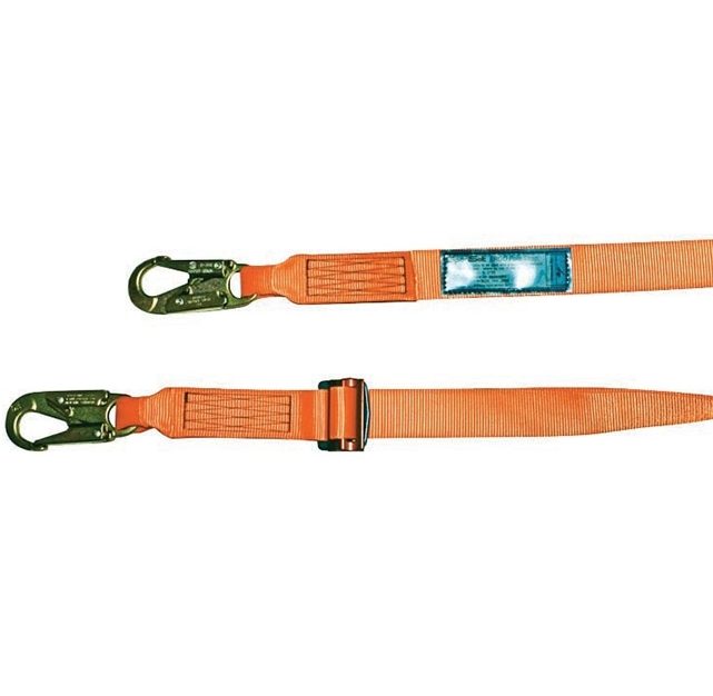 Spanset adjustable lanyard