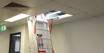 Fold Down Ladders Safe At Heights Queensland IMG 1128 Sml