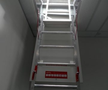 Fold Down Ladders Safe At Heights Queensland VISTA Entry