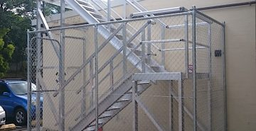Installation Gallery Roof Access Stairs Safe At Heights Queensland 1