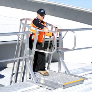 Roof Access Angled Rung Ladders Safe At Heights Brisbane Queensland 1 5 1 3 1 1