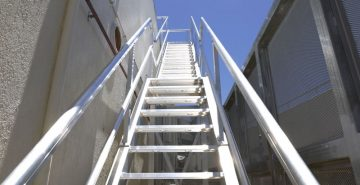 Roof Access Stairs Safe At Heights Queensland 12 1